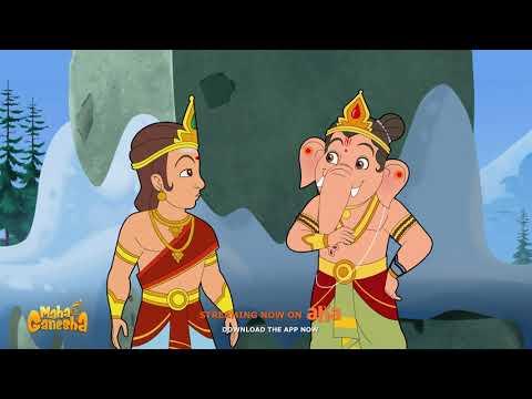 Maha Ganapathim Song   Maha Ganesha   Watch on aha Kids