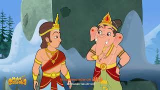 Maha Ganapathim Song | Maha Ganesha | Watch on aha Kids