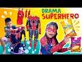 Drama Superhero Gagal Beraksi Gara-Gara Kostum Dijemur   Akhirnya Main Puzzle Tic Tac