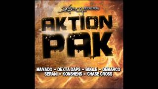 Action Pak Riddim Instrumental/Version (Daseca Production) April 2012