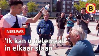 Het hele gesprek tussen Cihan (16) en Pegida-voorman Wagensveld.