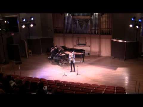 "Senior Recital: 5. ""Sonata for Trombone and Piano"" by Ewazen"