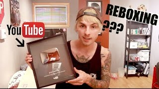 Reboxing My YouTube Silver Play Button