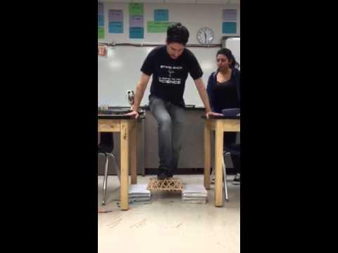 Physics Class Bridge Test