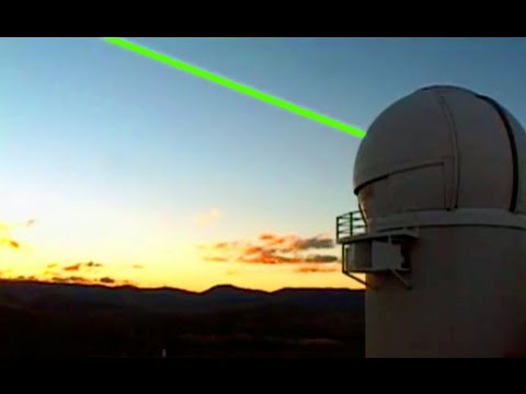 Lasers to Blast Space Junk!