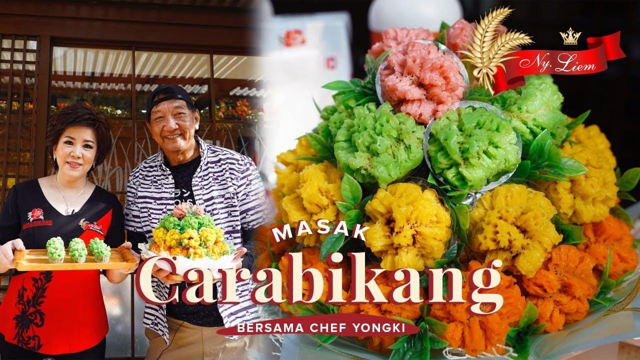 CARABIKANG MEKAR SEPERTI BUNGA? Chef Achen feat Chef Yongki Gunawan   INDONESIAN TRADITIONAL CAKE
