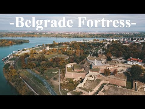 [TRAVEL w/ ME] DAY 1. MOST BEAUTIFUL FORTRESS IN BEOGRAD SERBIA & DRONE SHOTS in 4K