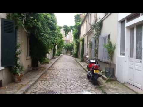 Rue Thermopyles Paris - A remnant of Old Paris. Walking tour. TRIAL ONLY! 12 Mins!