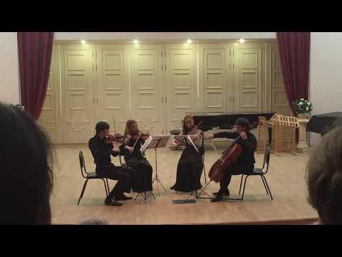 Ф. Мендельсон - струнный квартет № 3 D-dur Op. 44 №1, 1-я часть