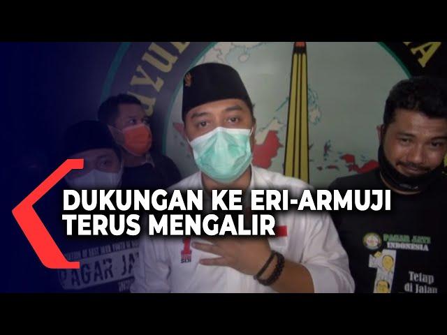 Pilwali Surabaya, Dukungan ke Eri-Armuji Terus Mengalir