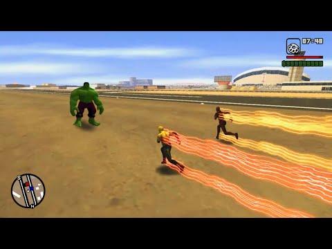 GTA San Andreas - The Flash Mod