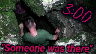 STUCK IN AN UNDER GROUND CAVE @3AM (SOMEBODY WAS THERE) thumbnail