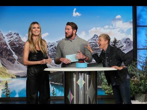 Heidi Klum and Ellen Play '5 Second Rule'