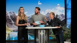 Heidi Klum and Ellen Play '5 Second Rule'
