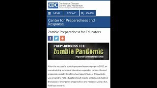 CENTERS FOR DISEASE CONTROL ZOMBIE PREPAREDNESS PLAN - US GOV ZOMBIE PLAN - CURRENT WORLD VIRUSES!!