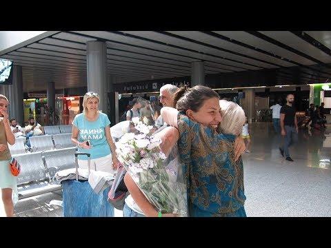 Yerevan, 13.08.17, Su, Video-1, (на рус), На встречу в аэропорт.
