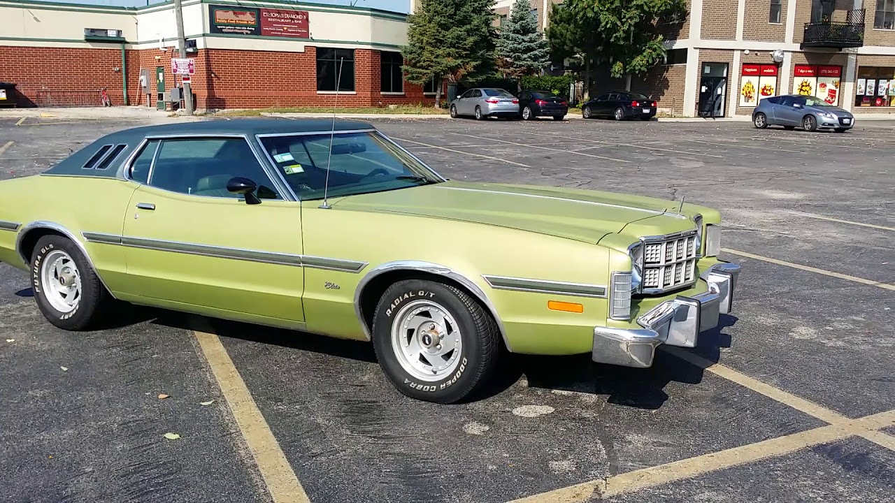 Ford Gran Torino Elite V Muscle Car Walkaround