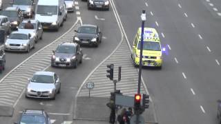 [Massive Airhorn] Ambulance 75 Copenhagen - Urgent patient transport