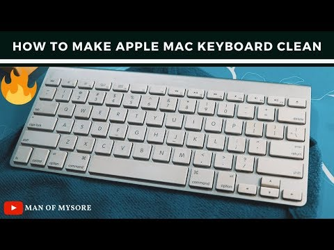 Clean your mac keyboard in one go #Apple #Mac #CleanMacKeyboard
