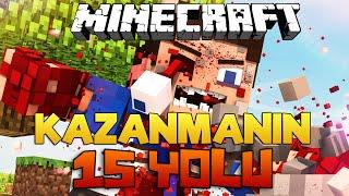 Minecraft - KAZANMANIN 15 YOLU! (Efsane Harita)