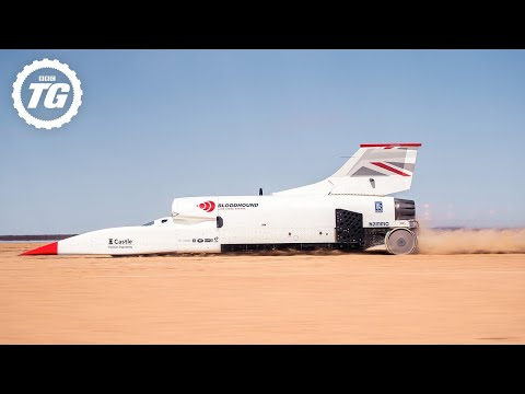 How to drive at 628mph | Top Gear