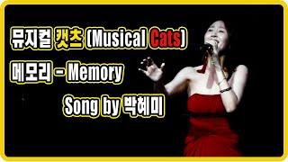 """* 뮤지컬 캣츠 """" 메모리 """" (Musical cats…"""