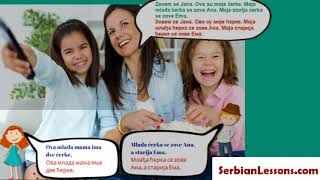 Learn Serbian with me - My Family