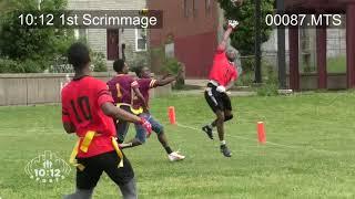 2018 Preseason Football Scrimmage 1012 Sports