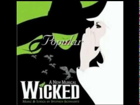 Wicked - Popular [Soundtrack Version]