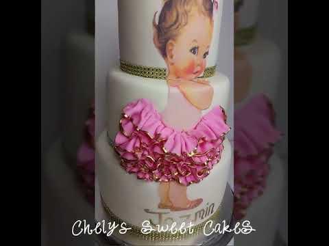 Baby Ballerina Tutu Cake Youtube