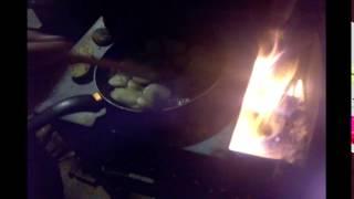 Закарпатська кухня картопля на шпорі