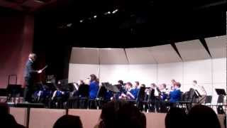 Carl Traeger Middle School 8th Grade Band - Dance of the Harlequins