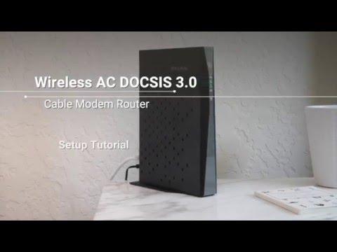 NETGEAR AC1200 WiFi DOCSIS 3 0 Cable Modem Router (C6220-100NAS)