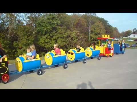 Ted E. Bear Express at Lawsonville Fire Dept 50th Anniverary