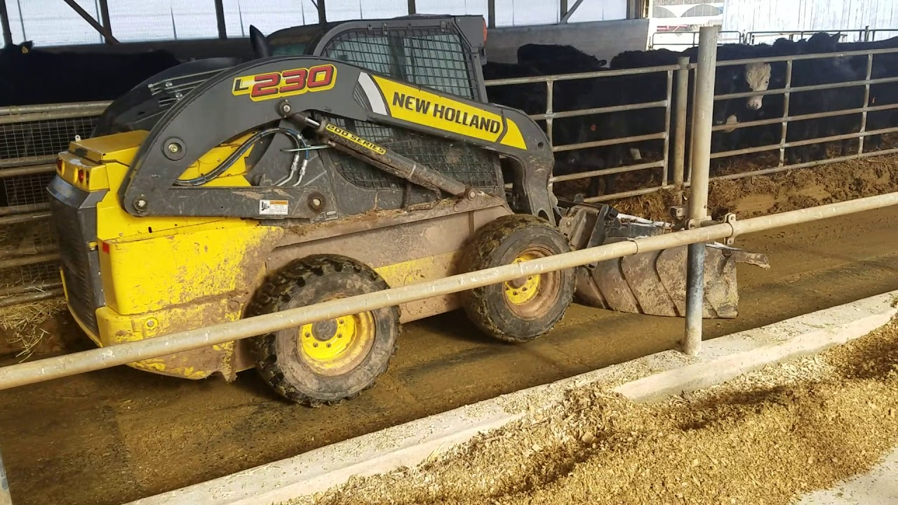 The Farmer S Son Knows How To Run This Operation Scraping Steer