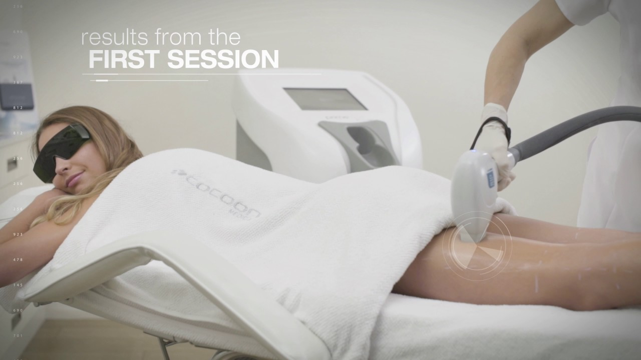 feel the most efficient hair removal in the market with primelase HR | cocoon medical