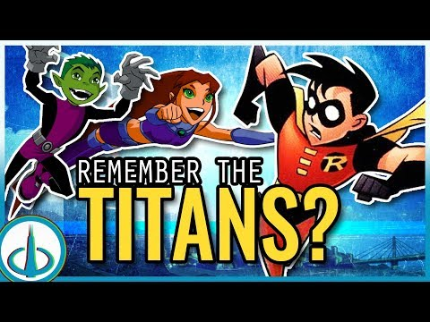 The DCAU TITANS - Who Are They? | Watchtower Database