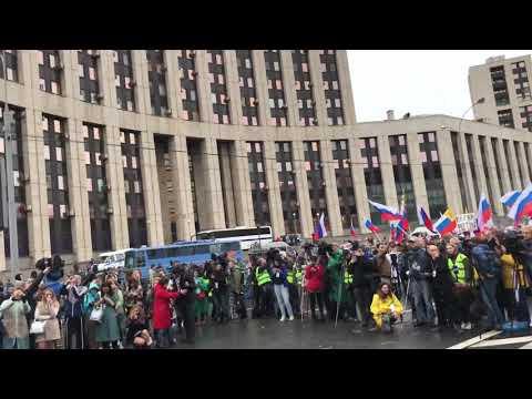FACE Мой Калашников - митинг на Сахарова 10.08.2019