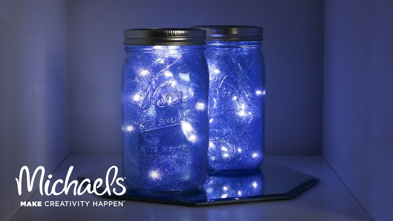 Galaxy Light Mason Jar | Michaels