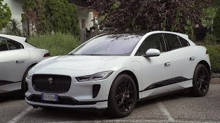 New All-electric Jaguar I‑PACE media drive in Italy