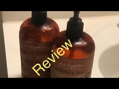 Not Too Late Natural Hair | Urban Hydration Coconut Oil Shampoo & Conditioner Review Vlogs 06