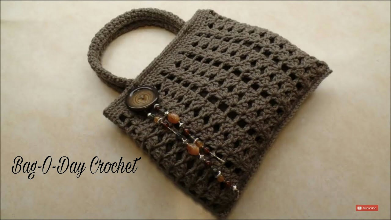 Crochet how to crochet easy handbag purse tutorial 338 crochet how to crochet easy handbag purse tutorial 338 supersaver youtube bankloansurffo Gallery