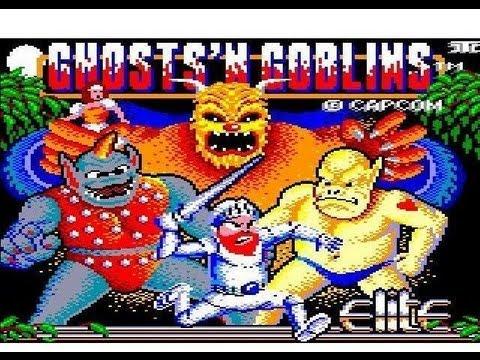 L'épopée Ghosts'n Goblins ( part 1 )