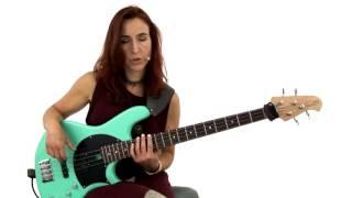 Bass Guitar Lesson - #41 Soloing: Major Pentatonics - Ariane Cap