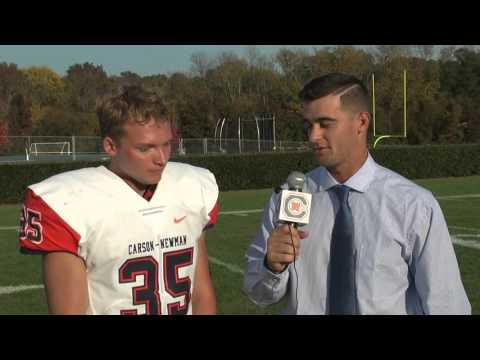 Carson-Newman Football: Carson Wise post-Wingate 10-24-15