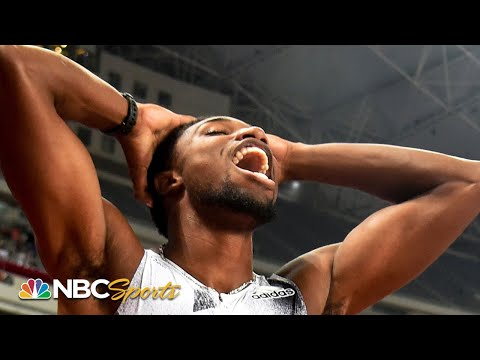 Lyles stuns Coleman at the wire for 100m dash victory | NBC Sports