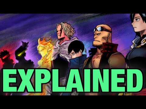 NEW INFO on previous ONE FOR ALL Users  My Hero Academia  Quirks Explained