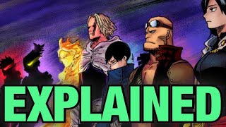 Baixar MORE INFO on previous ONE FOR ALL Users / My Hero Academia / Quirks Explained