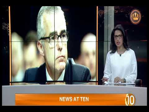 English News at Ten on Jordan Television 17-03-2018