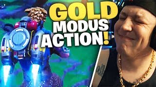 Jet Pack Gold Modus Action | Fortnite | SpontanaBlack